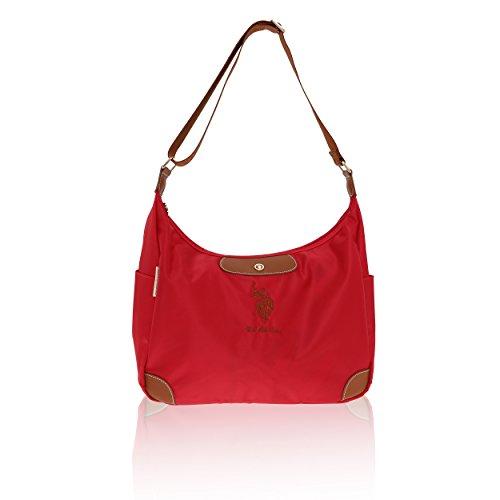 U.S.Polo Assn. Bolsa de hombro Mujer - 37-40x27x14 Cm rojo