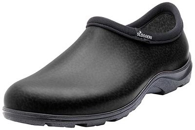 Sloggers Men's Waterproof Shoe with Comfort Insole, Black, S
