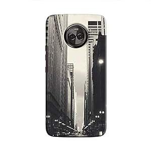 Cover It Up - City Street BW Moto X4 Hard Case