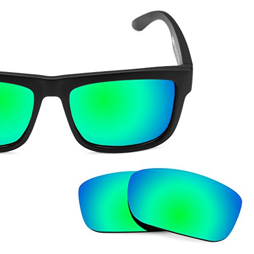 Revant Polarized Replacement Lenses for Spy Optic Discord Emerald Green MirrorShield