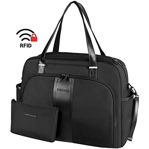 KROSER Laptop Tote Bag 15.6