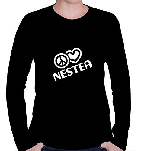peace-love-nestea-womens-long-sleeve-shirt