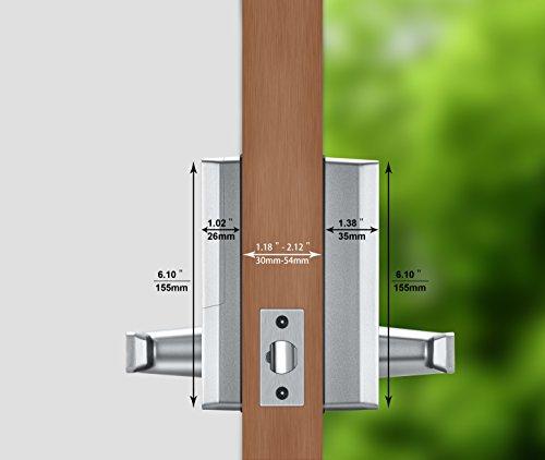 Keyless Bluetooth Locks Digital Keypad Door Smart Home