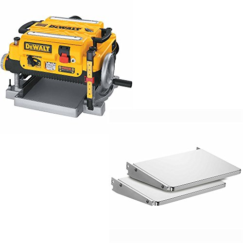DeWalt DW735 HD 13 inch 3-Knife 2-Speed Thick Planer & DeWalt DW7351 Folding Tables