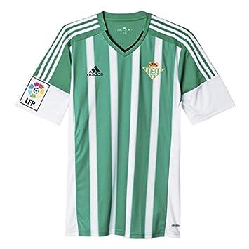 adidas Betis FC Camiseta de Fútbol, Hombre, Multicolor (Verde/Blanco), S: Amazon.es: Deportes y aire libre