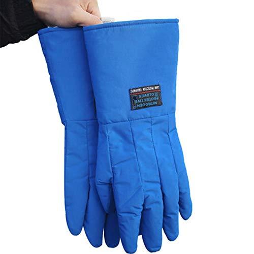 AINIYF Low Temperature Resistant Liquid Nitrogen Gloves Antifreeze Gloves Cold Storage Dry Ice Cold Warm Gloves (Size : 45cm) by AINIYF (Image #4)