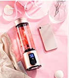 Home Juice Machine Fruit And Vegetable Multi-Function Water Small Mini Student Charging Juice Cup Portable (Rose gold)