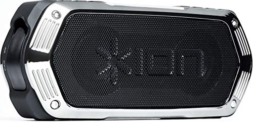 ION Audio Aquaboom   Waterproof Stereo Bluetooth Speaker with Built-in Microphone & Rechargeable Battery (10W)