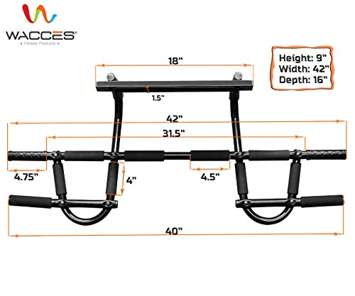 P90X Chin up Pull up Bar and Resistance Bands