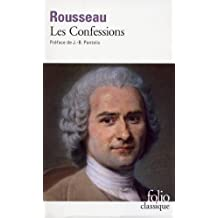 Confessions Rousseau (Folio) (French Edition)