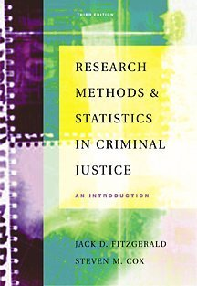 Research Methods in Criminal Justice: An Introduction