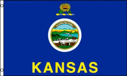 Kansas Flag 2x3ft Poly ()