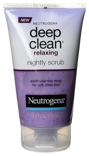 Neutrogena Clean Relaxing Nightly Scrub