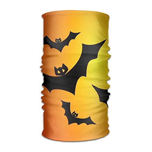 ZQQZ Orange Bats On Black Multifunctional Magic Headwear