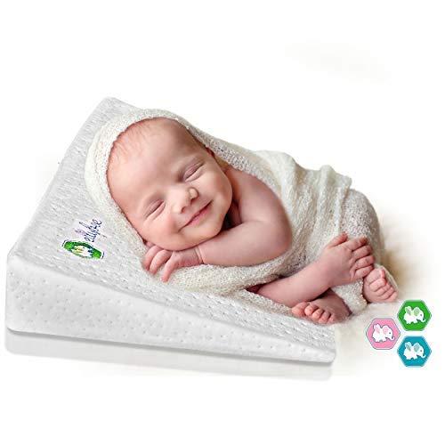 Ellybee Universal Crib Wedge Pillow For Baby Crib Mattress