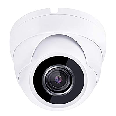 HDView 2.4MP (HD-TVI/AHD/CVI/Analog) 4-in-1 Dome Camera 1080P SONY Sensor Outdoor Indoor Turbo Platinum 3.6mm Fixed Lens IP66 Night Vision Black Film Matrix EXIR LED CCTV Security Surveillance System from HDView