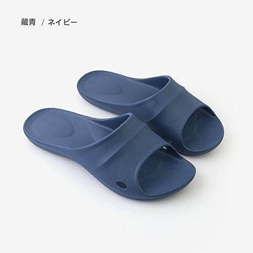 Dark Bath Anti Home Slippers 43 Slippers Cool 44 Your XL in Bathroom Summer fankou Couple Men of Living Blue Slip Female Stay Room nq1xPvfw