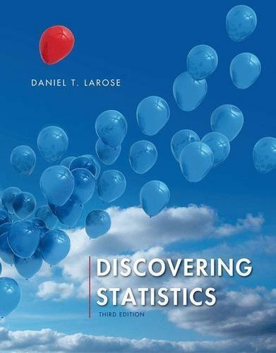 Read Online Discovering Statistics by Daniel T. Larose (2015-11-05) ebook