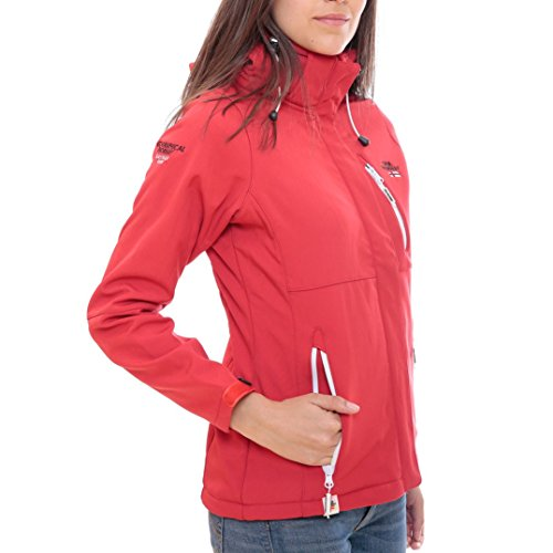 Geographical Norway Giacca Giubbotto Tchika Lady Rosso