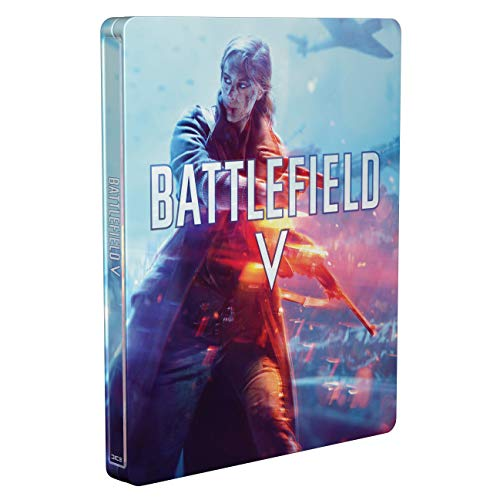 Battlefield V – Steelbook (exclusive to Amazon.co.uk) [No Game Included]