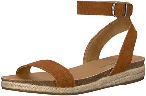 Brand Women's Garston Peanut Flat Lucky Sandal BR4OwzWq