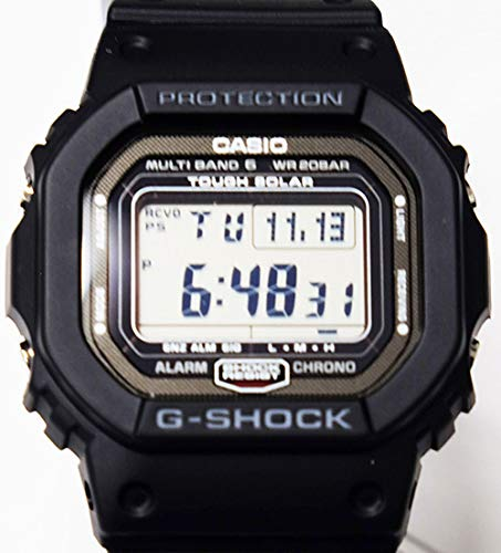 - Casio G Shock GW-5000-1JF Multi Band 6 Japan Made
