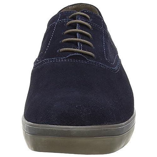 924d2f94c6b FitFlop Men's Lewis Suede Lace-Up Sneaker chic - appleshack.com.au