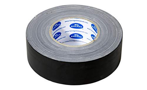 Savage 2''x55yds Gaffer Tape, Single Roll, Black
