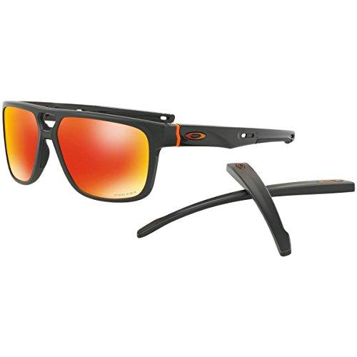 Oakley Men's Crossrange Patch Aero Sunglasses,OS,Matte Carbon (Collection Sunglasses)
