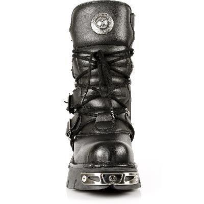 New Rock, Stivali uomo nero nero