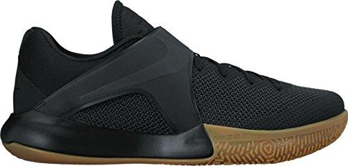 Nike Zapatillas de baloncesto Zoom Live Black/Black negro