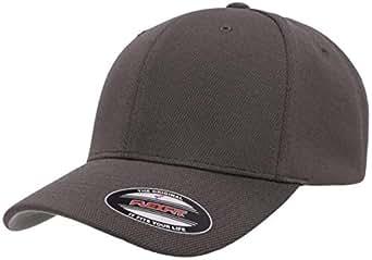 Flexfit Mens 6597 Cool & Dry Sport Hat - Gray - Small/Medium