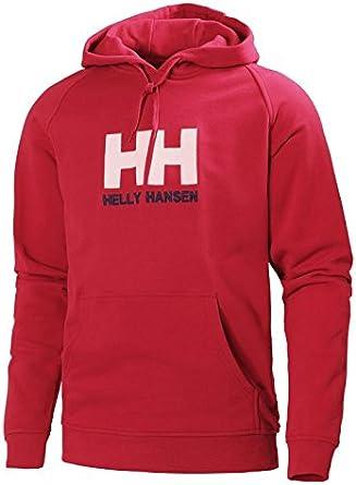 Helly Hansen HH Logo Hoodie Sudadera In Algodón con Capucha ...