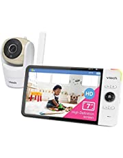 VTech VM919HD Video Monitor with 7-inch True-Color HD 720p Display, Fully Remote Pan, Tilt, Zoom, 360 Panoramic Viewing, 110 Wide-Angle View, HD Night Vision, Up to 1000ft Range, Secured Transmission