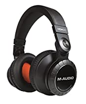 M-Audio HDH50 | High-Definition Professional Studio Monitor Headphones with 50mm Drivers & Microphone Cable