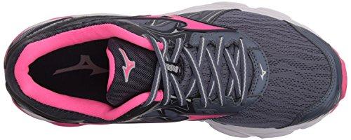 Mizuno Wave Women's 14 Gray Shoe Inspire Folkstone Running Glo Pink BBwr5PxCq
