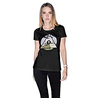 Creo Pakistan T-Shirt For Women - Xl, Black