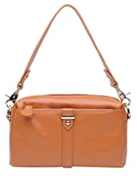 SAIERLONG New Womens Genuine Leather Cross Body Bags Shoulder Bags