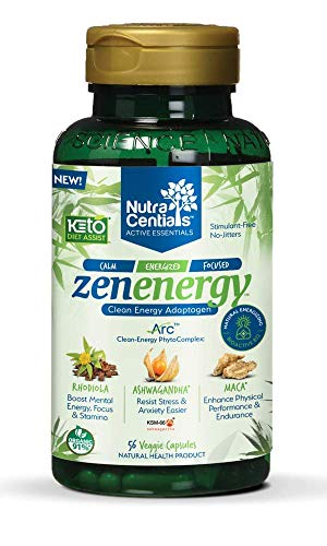 Nutracentials Zenenergy With Ksm-66 56 Count
