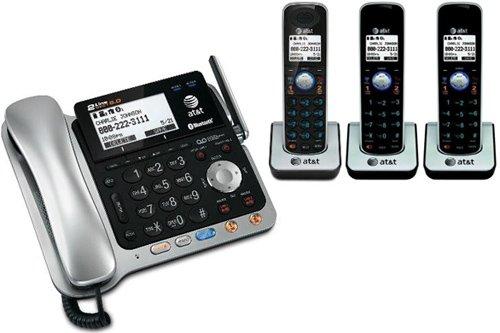 AT&T TL86109 + (2) TL86009 4 Handset Corded / Cordless (2 Line) DECT 6.0