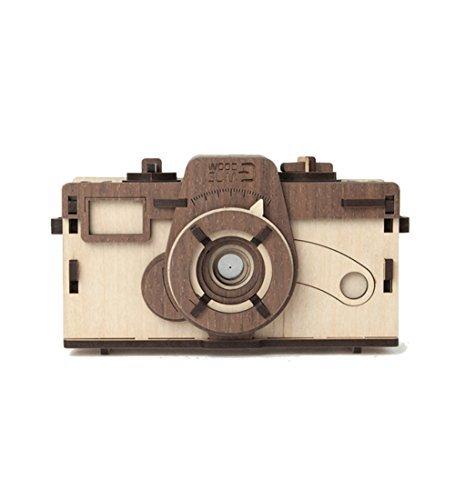 Woodsum Fully Wooden Pinhole Camera Assembly Kit - Mall Maple Wood