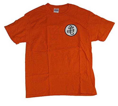 Costume Gt Goku (Dragon Ball Super DragonBallZ DBZ Roshi Kame Turtle Symbol Goku Tee Shirt)