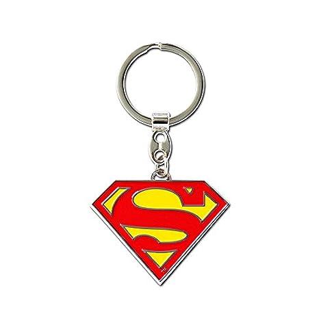 Llavero Superman Logotipo - Llavero DC Comics - Superman Logo - Superhéroe - Key-Ring - coloreado - Diseño original con licencia - Logoshirt
