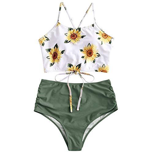 ZAFUL Sunflower Bikini Set