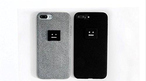 iPhone 6 / 6S / 7Soft布素材対応ケースAclu StudioにインスパイアされたプレリュードデザインiPhoneケース(ブラック、iPhone 6 / 6S / 7)   B079NG3G9M