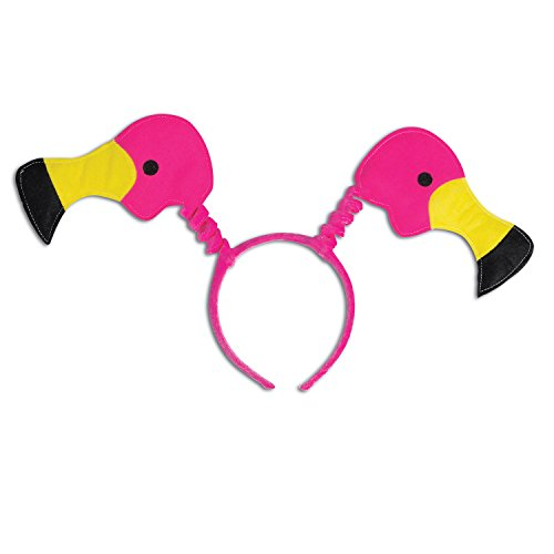 Pink Flamingo Accessories (Flamingo Boppers Party Accessory (1 count) (1/Pkg))