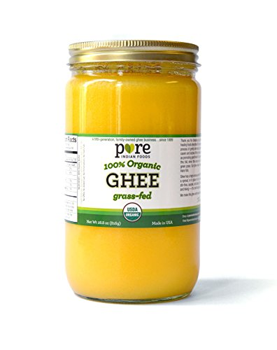Grassfed 100% Organic Ghee 28.8 Ounce (Pack of 1) by Pure Indian Foods (Image #1)