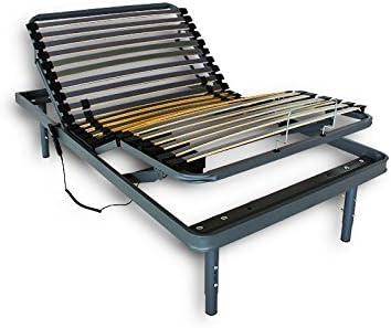 Mando con Cable, 135 x 190 cm Cama Articulada Reforzada Adaptator con Motor el/éctrico Ventadecolchones