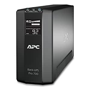 APC Back-UPS Pro 700VA UPS Battery Backup & Surge Protector (BR700G)