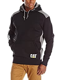 Caterpillar Men's Logo Panel Hooded Sweatshirt